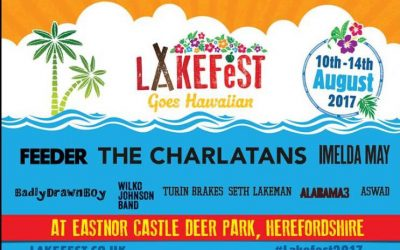 Lakefest 2017 – Official Line-Up