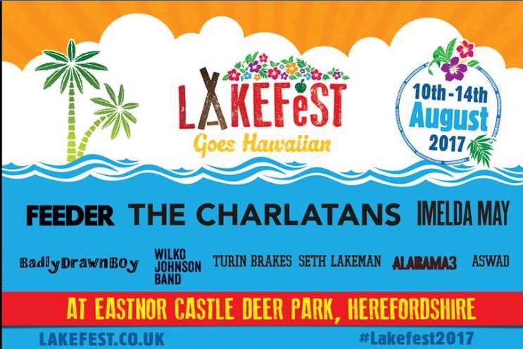 Lakefest 2017 – Official Line-Up